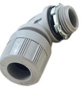 5595-004W  Woodhead Molex 1300980208 MAX-LOC Cord Grip With O-Ring Form 2, 1/2In (MULTI-HOLE) (4) .225 Holes 90 Degr, 130098-0208