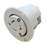 2747MB Woodhead Molex 1301490039 Safeway OUTLET Flanged Receptacle Nema  L5-20 20A/125V