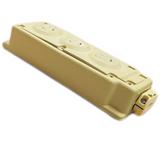 32553  Woodhead Molex 1301360050 MULTI-TAP BOX 15A-125V LR 6837