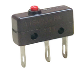 111SM23-H4 Micro Switch Honeywell Switch Snap Action N.O./N.C. SPDT Roller Lever Quick Connect/Solder Lug 1A 250VAC 30VDC 1.95N Screw Mount