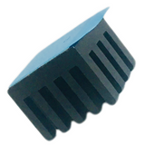 5 Pack BGASTD010 ABL Aluminum Components  HEAT SINK, BGA, STANDARD, 27C/W, 204424