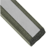 """4049PA51H01800 LAIRD PLC EMI Gaskets, Sheets, Absorbers & Shielding Fabric Over Foam Sq L 18""""xW .25""""xH .25"""""""