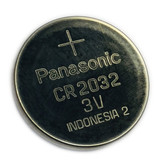 1 New CR2032 Panasonic Button Cell Coin 3V Battery For Watch Toy Remote