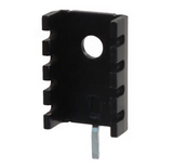 2 Pack of 577002B04000G Aavid Thermalloy Heat Sink Passive TO-220 Slim Channel Thru-Hole 32C/W Black Anodized