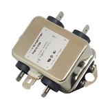 FN610-3/06 SCHAFFNER Power Line Filter General Purpose EMI 0Hz to 400Hz 3A 250VAC/250VDC Threaded Stud Flange Mount