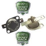 1NT15L-4043 Klixon Manual Reset 204°C / 400°F Fixed Temperature Thermostat