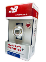 50114NB  Heart Rate Pedometer Activity Tracker; Color White