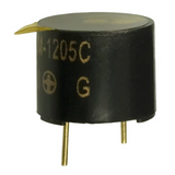 CEM-1205C CEM Series 12 x 9.5 mm 2.3 kHz 5 V 83 dB Magnetic Sound Transducer