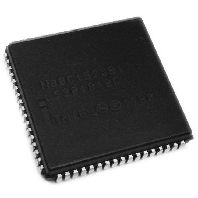 N8097-90 Intel Microcontroller CU 16-bit CISC ROMLess 5V 68-Pin PLCC
