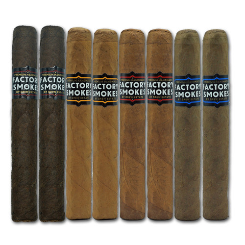 Factory Smokes Robusto Sampler