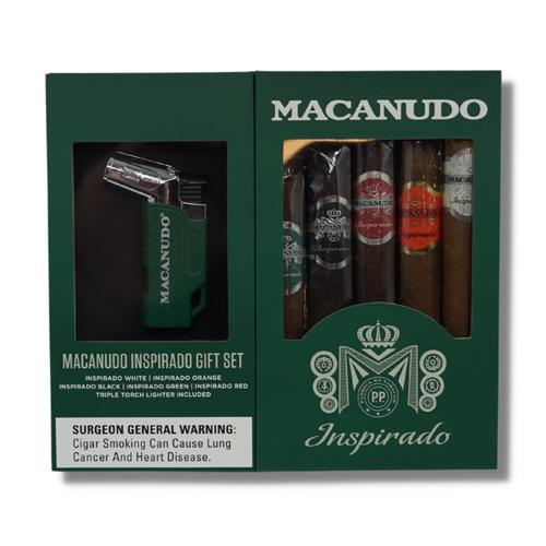 Macanudo Inspirado Collection With Lighter