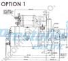 Perkins 4.248 series Starters Motor 12V 1.8kW - parts4engines.com