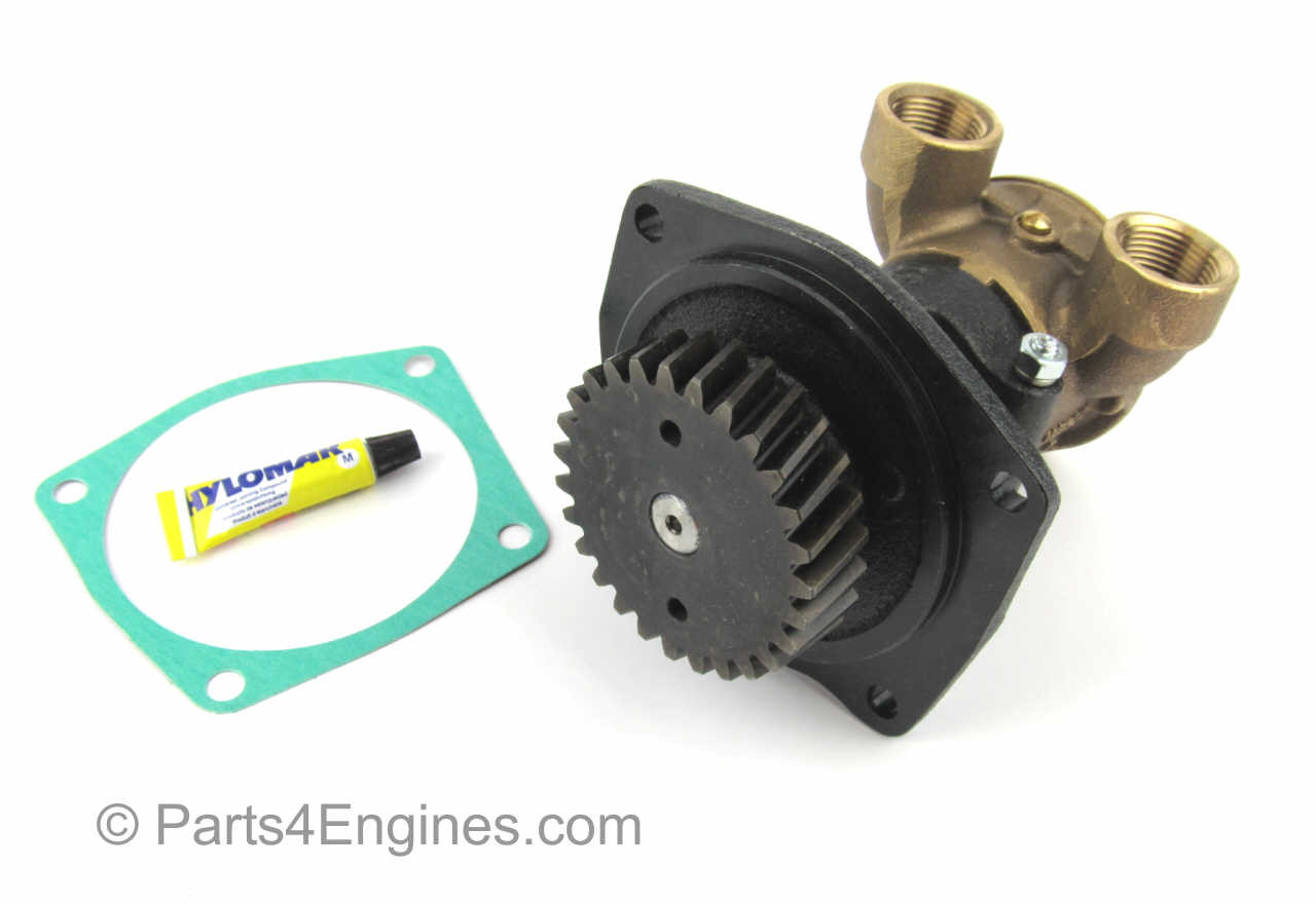 Threaded version - Perkins M90 Raw Water pump from parts4engines.com