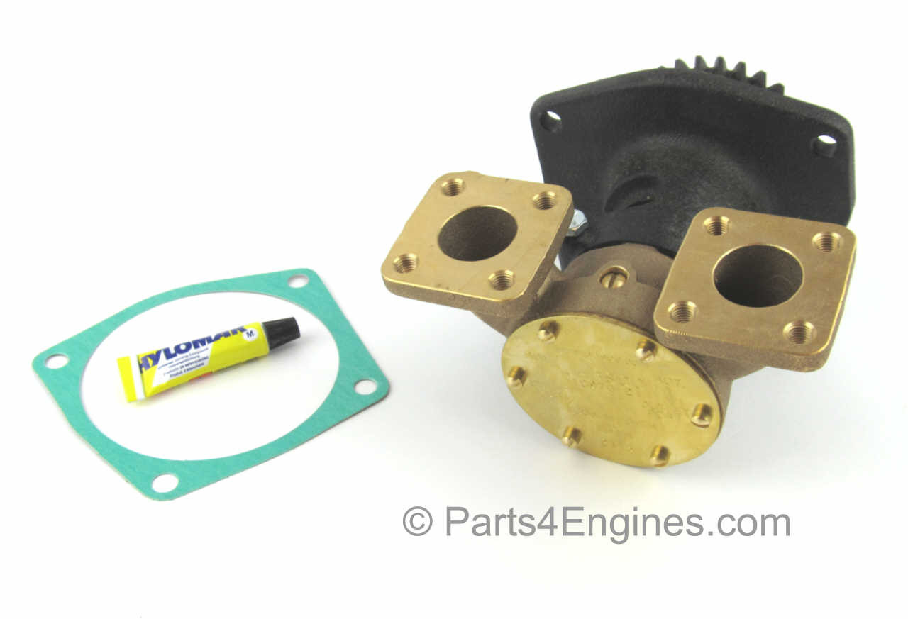 Flanged Version - Perkins M90 Raw Water pump from parts4engines.com