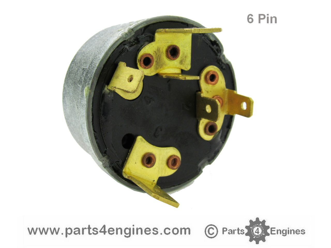 6 pin switch - Perkins M90 Ignition switch from parts4engines.com