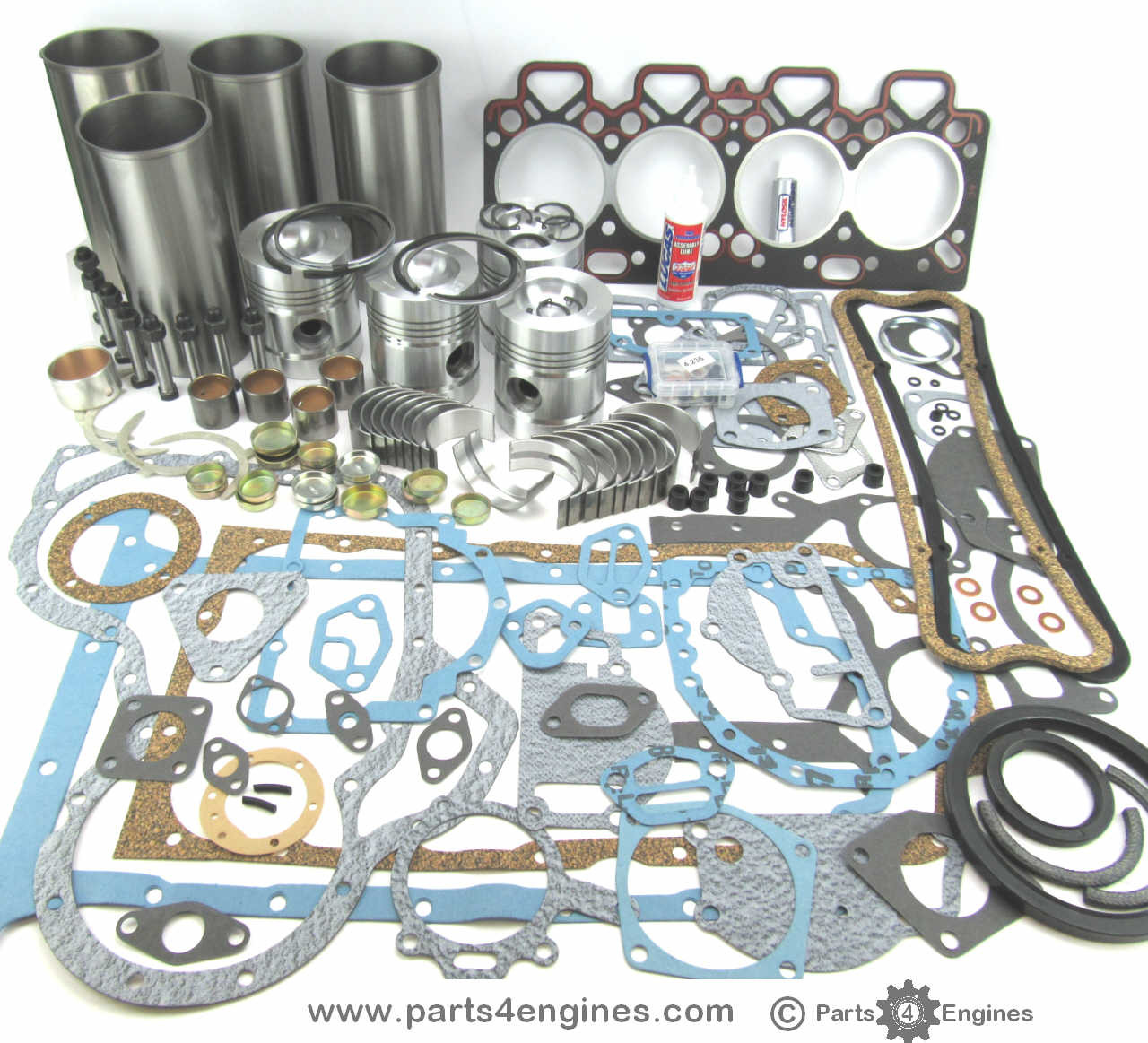 Perkins 4 248 Engine Overhaul Kit