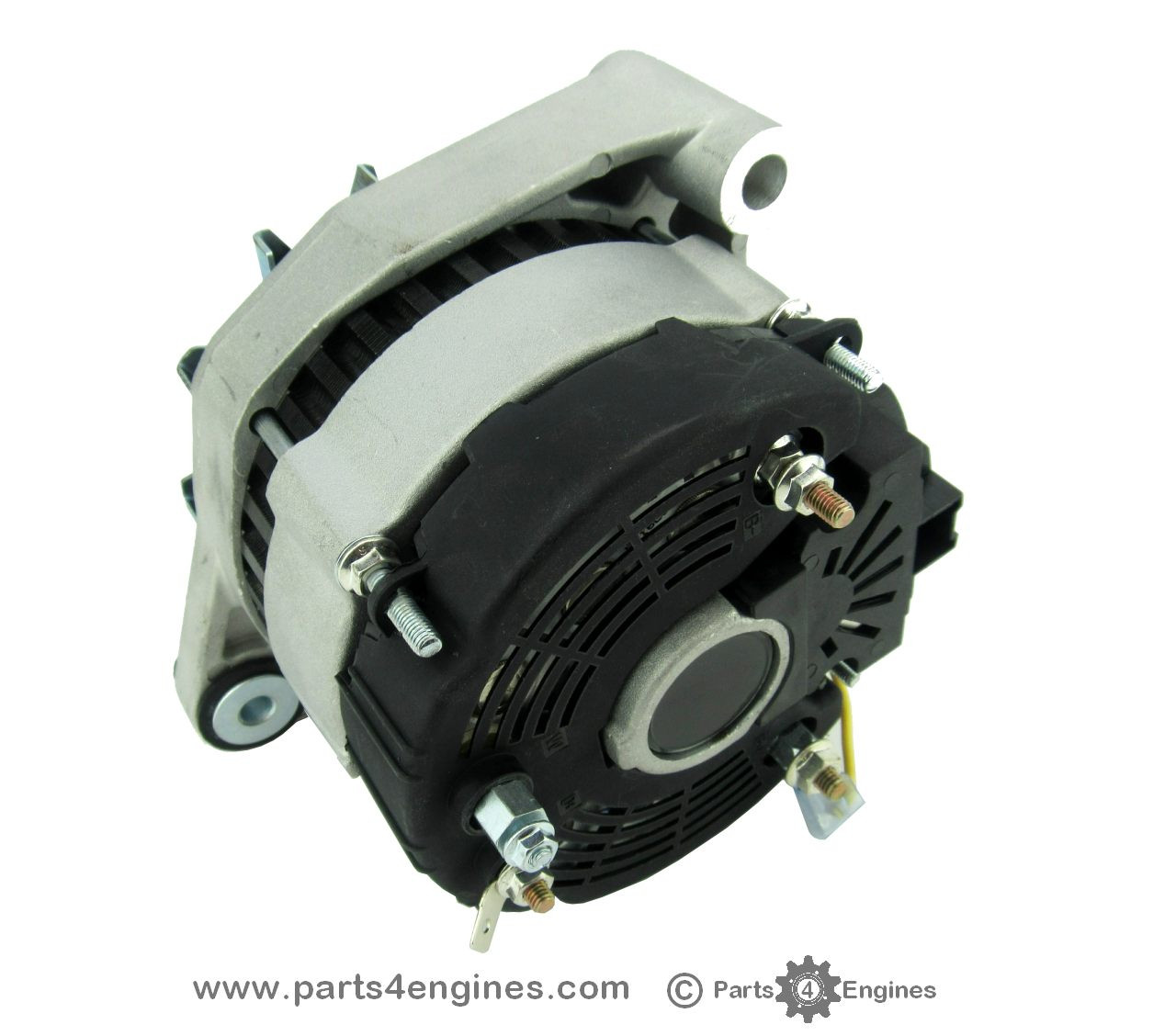 Volvo Penta TAMD22 isolated earth Alternator | Volvo Penta Alternator Wiring Diagram |  | Parts4Engines