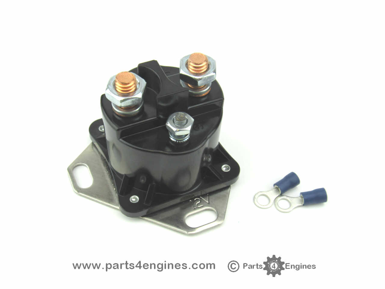 Perkins 4.108 Starter Solenoid 100 Amp on