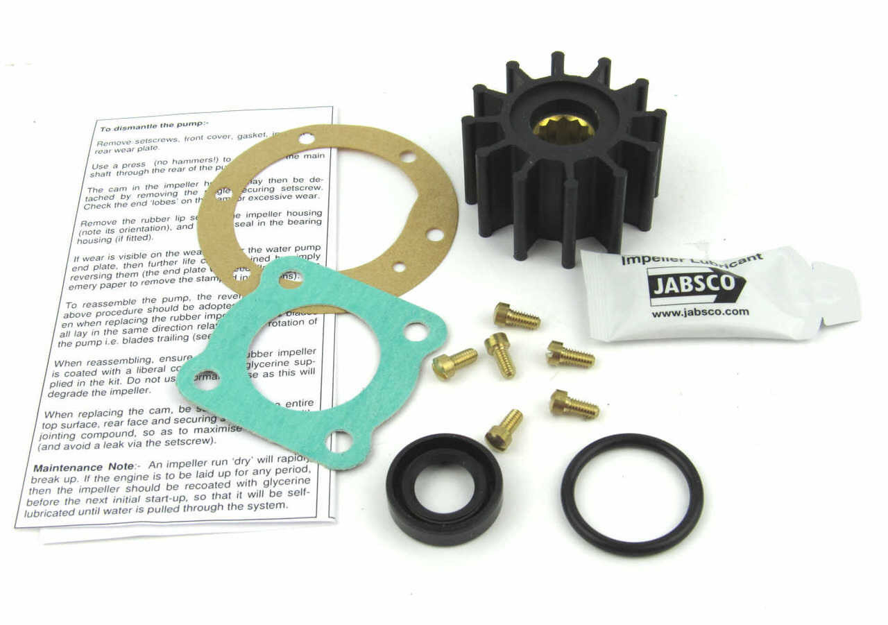 Perkins 4.108 raw water pump Service kit from parts4engines.com