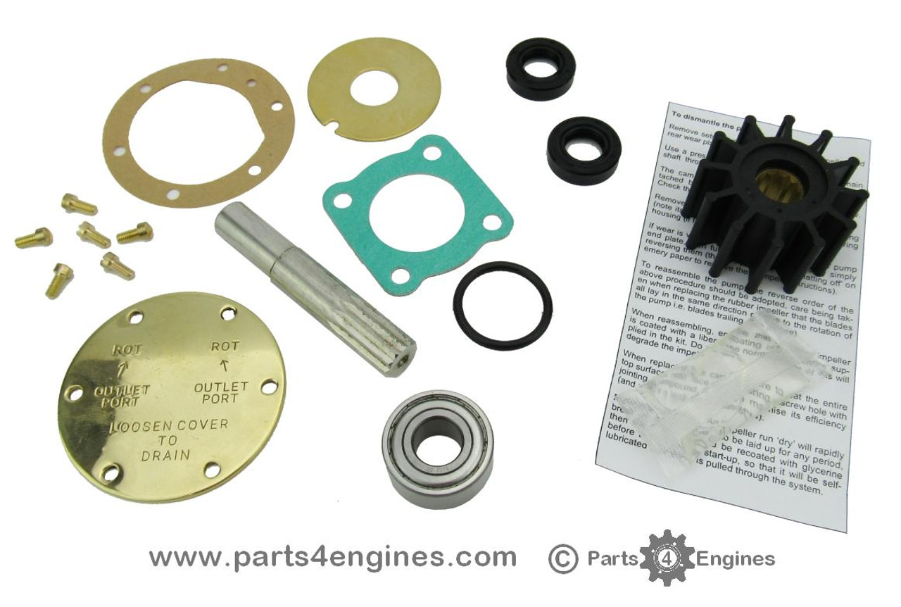 Perkins 4.108 raw water pump rebuild kit, from parts4engines.com