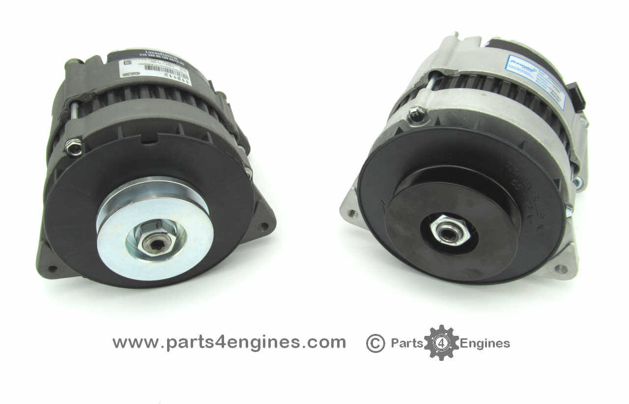 Perkins 6.354 70A & 90A insulated return alternator P4E