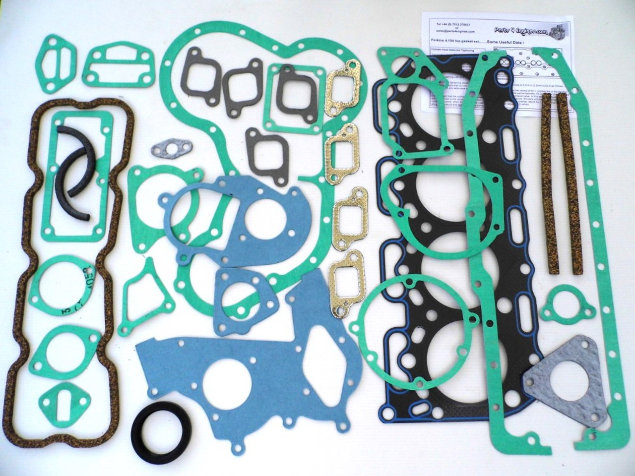 Perkins 4.154 Engine Overhaul kit from parts4engines.com