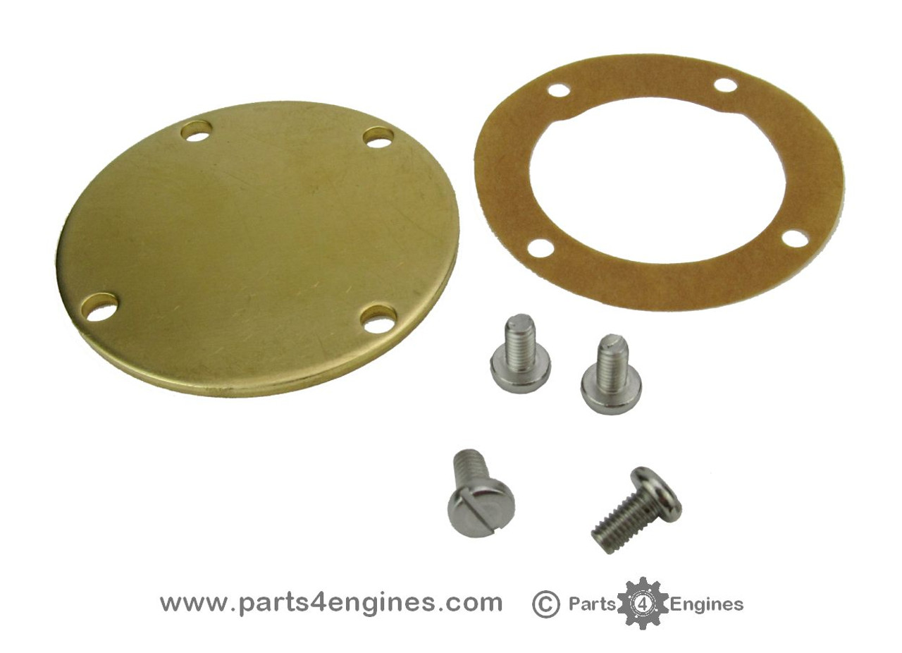 Yanmar 2GM20 raw water pump end cover - parts4engines.com