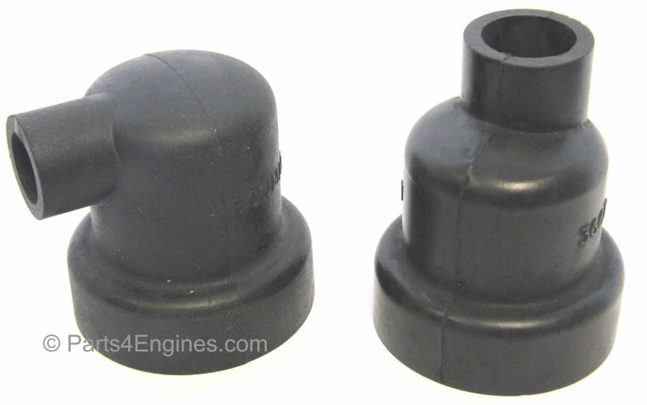 Perkins 4.108M heat exchanger end caps