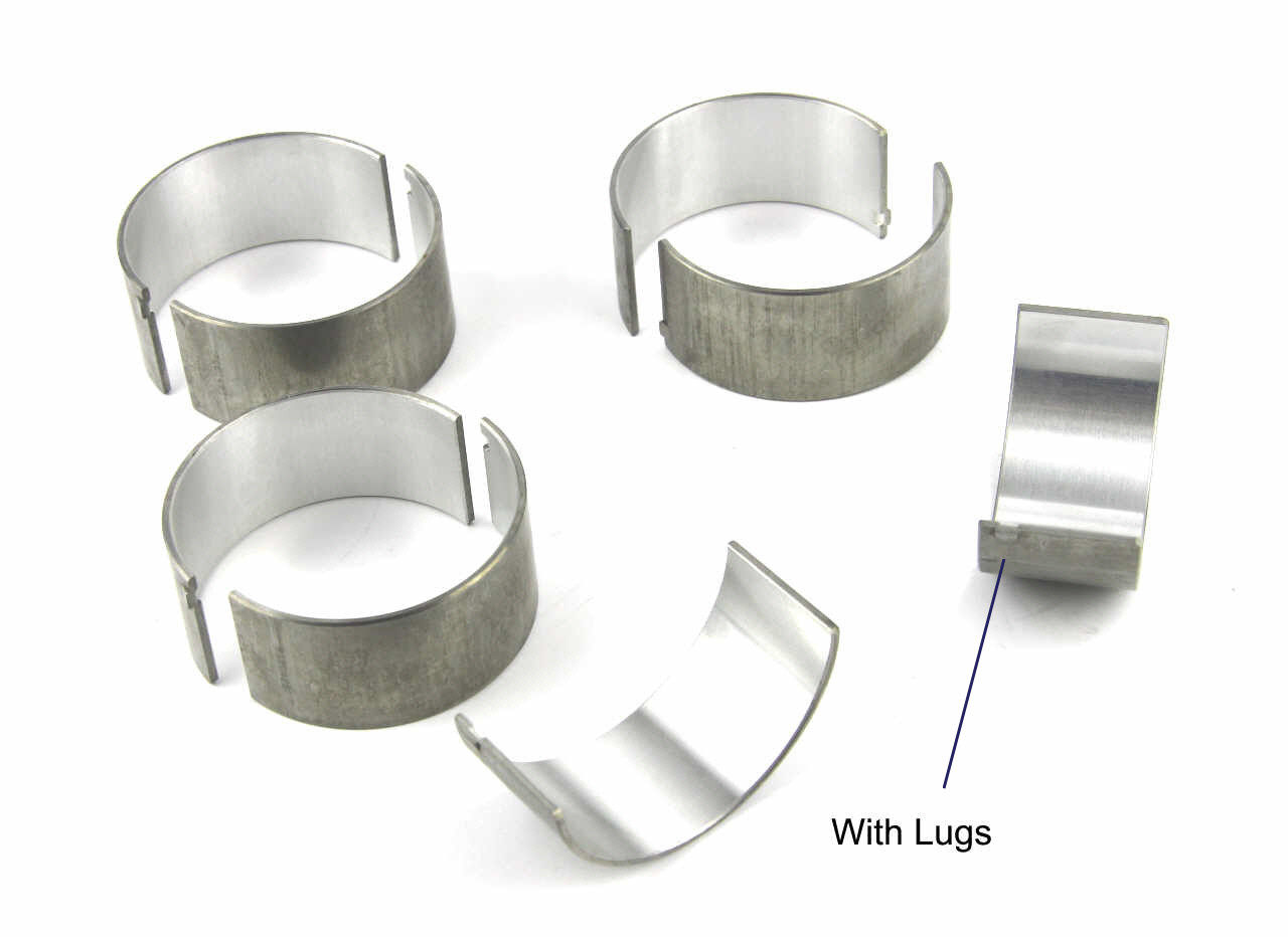 Perkins Phaser 1004 connecting rod bearings with lugs