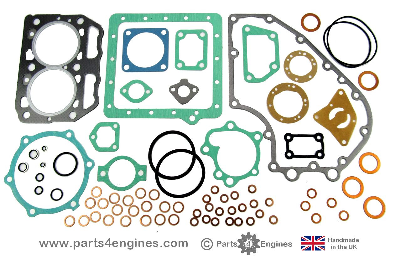 Yanmar 2GM20 Gasket set, from parts4engines.com