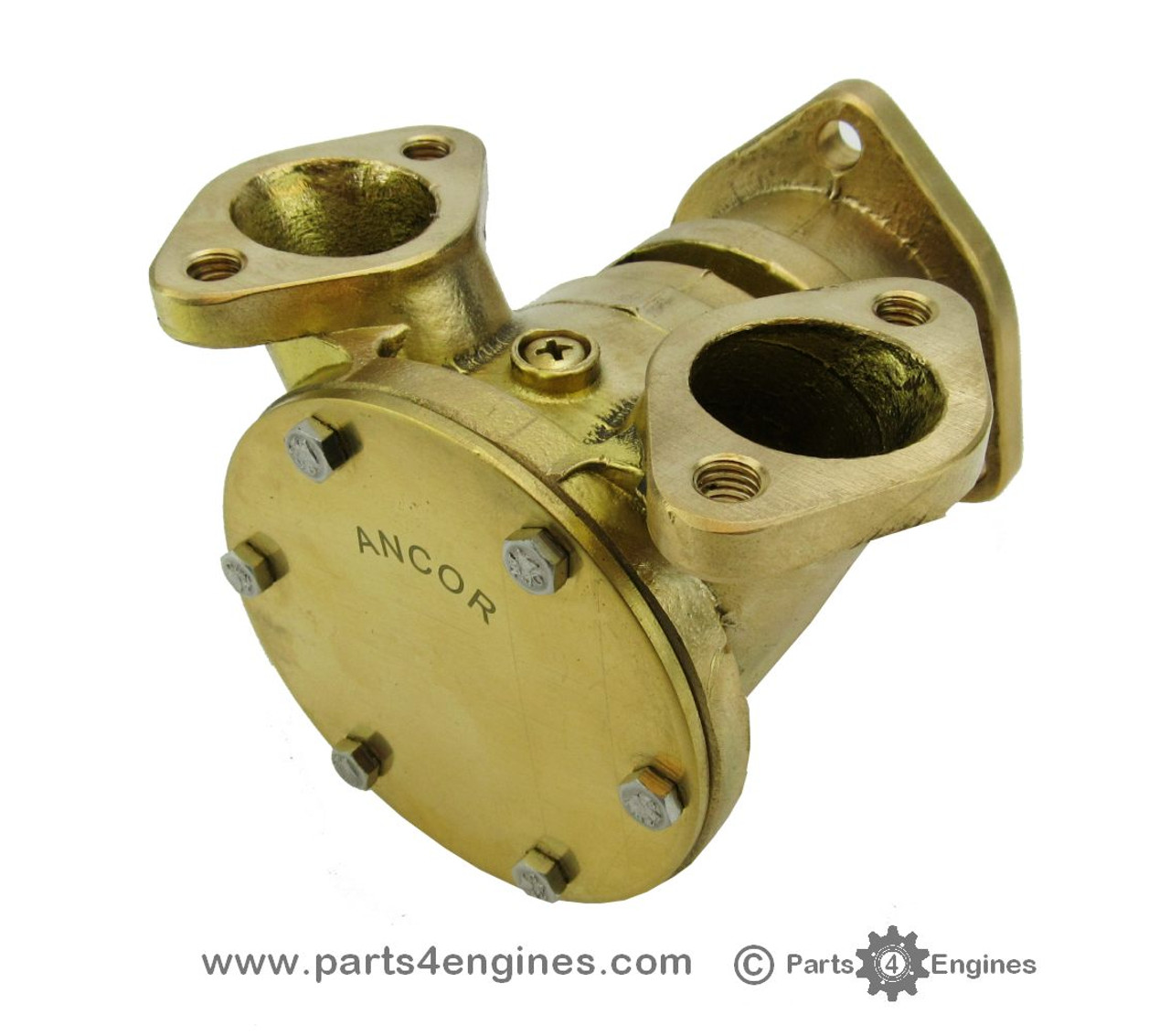 Perkins 6.354 Raw water flange mounted pump - Type 'B' - parts4engines.com