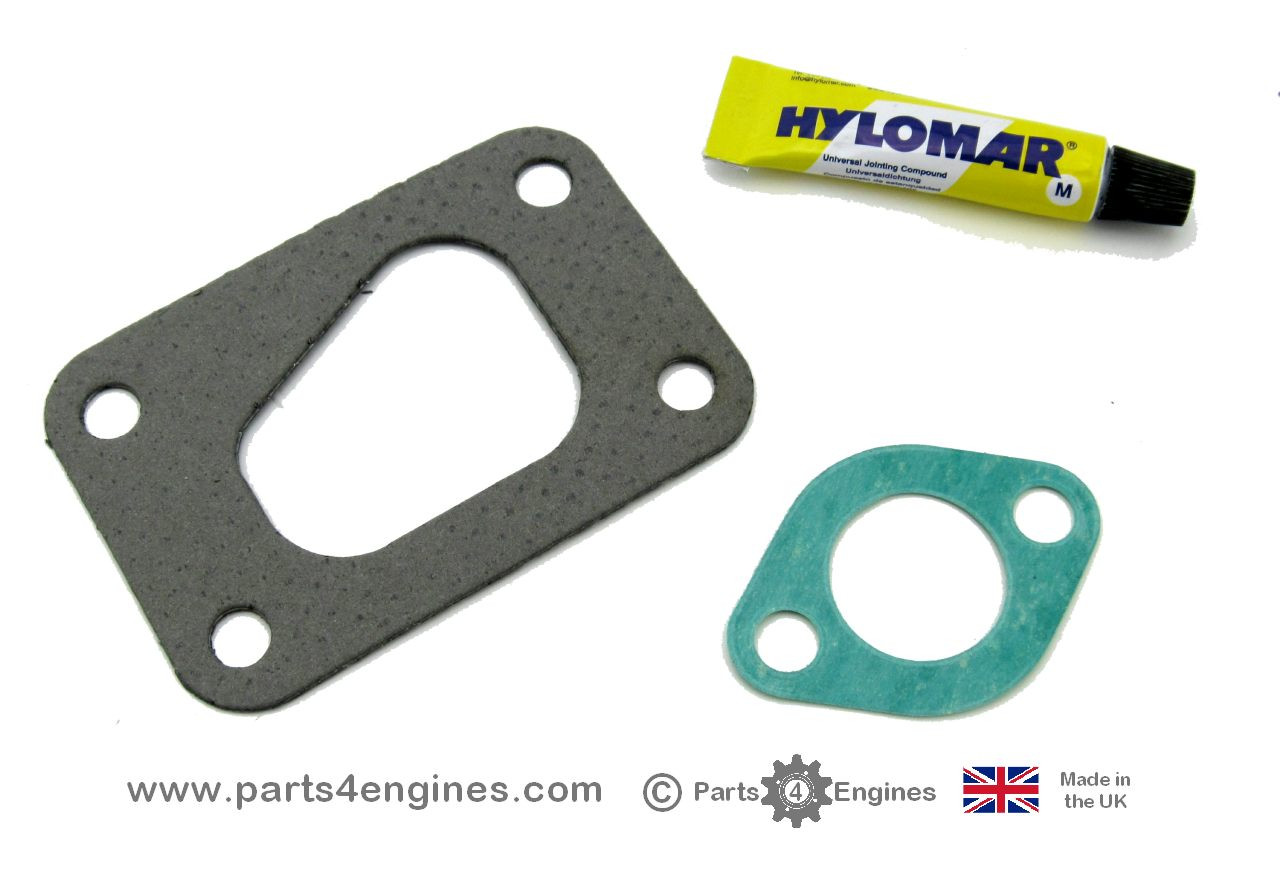 Volvo Penta D2-55 Exhaust outlet gasket kit,  versions  C to F