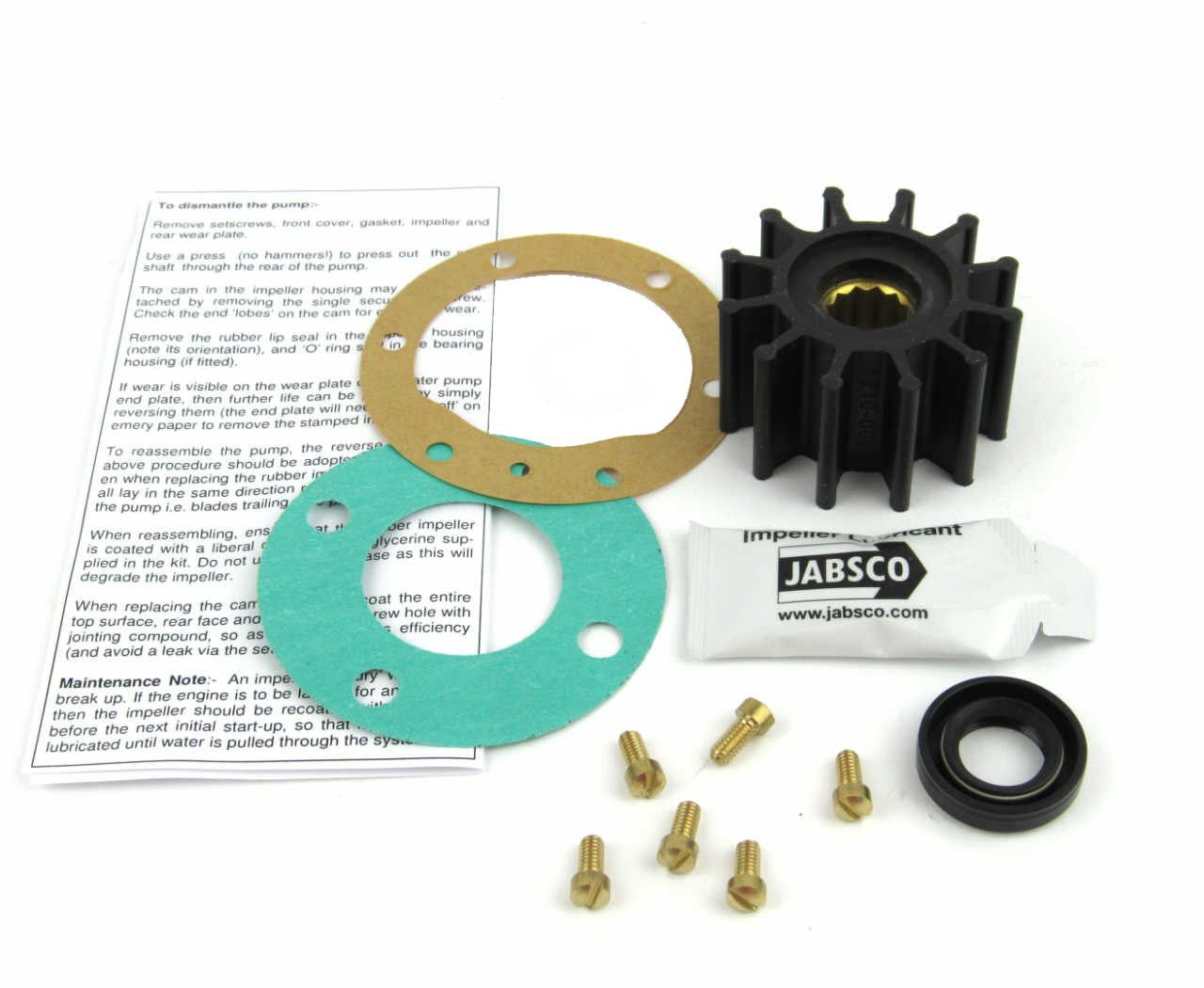 Volvo Penta TMD22A Cam driven raw water pump service kit - parts4engines.com