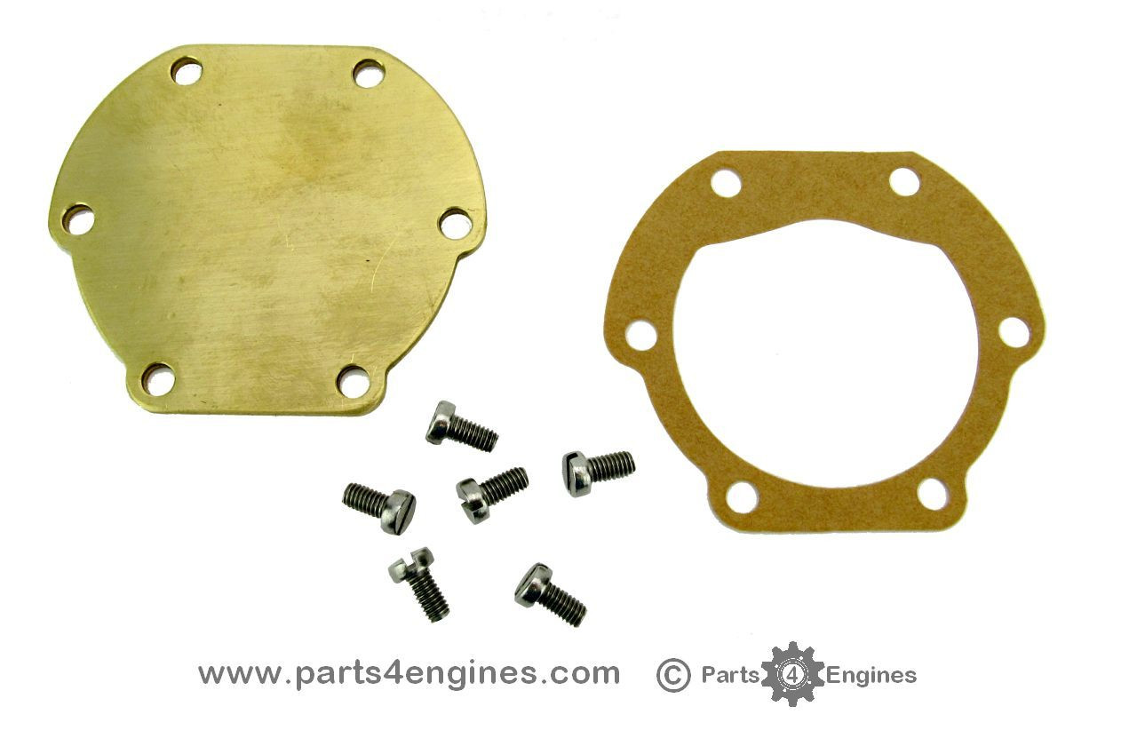 Volvo Penta MD2040 raw water pump LATE end cover kit - parts4engines.com