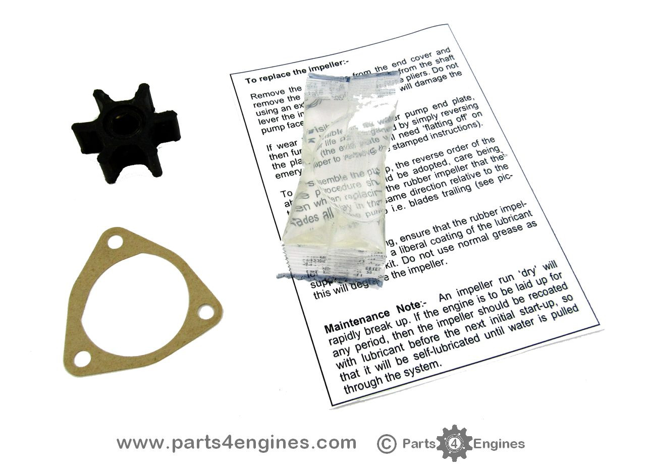 Yanmar 1GM Raw water pump impeller kit