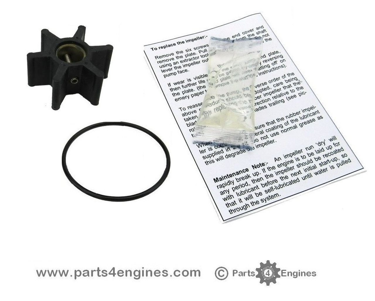 Yanmar 3YM20 Raw water pump impeller kit - parts4engines.com
