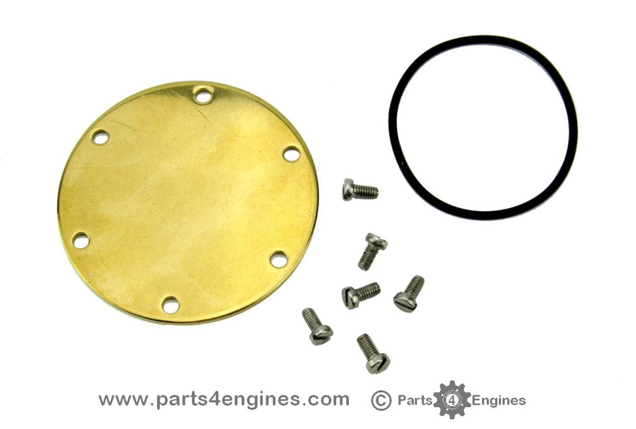Yanmar 2GM20YEU Raw water pump cover kit, from parts4engines.com