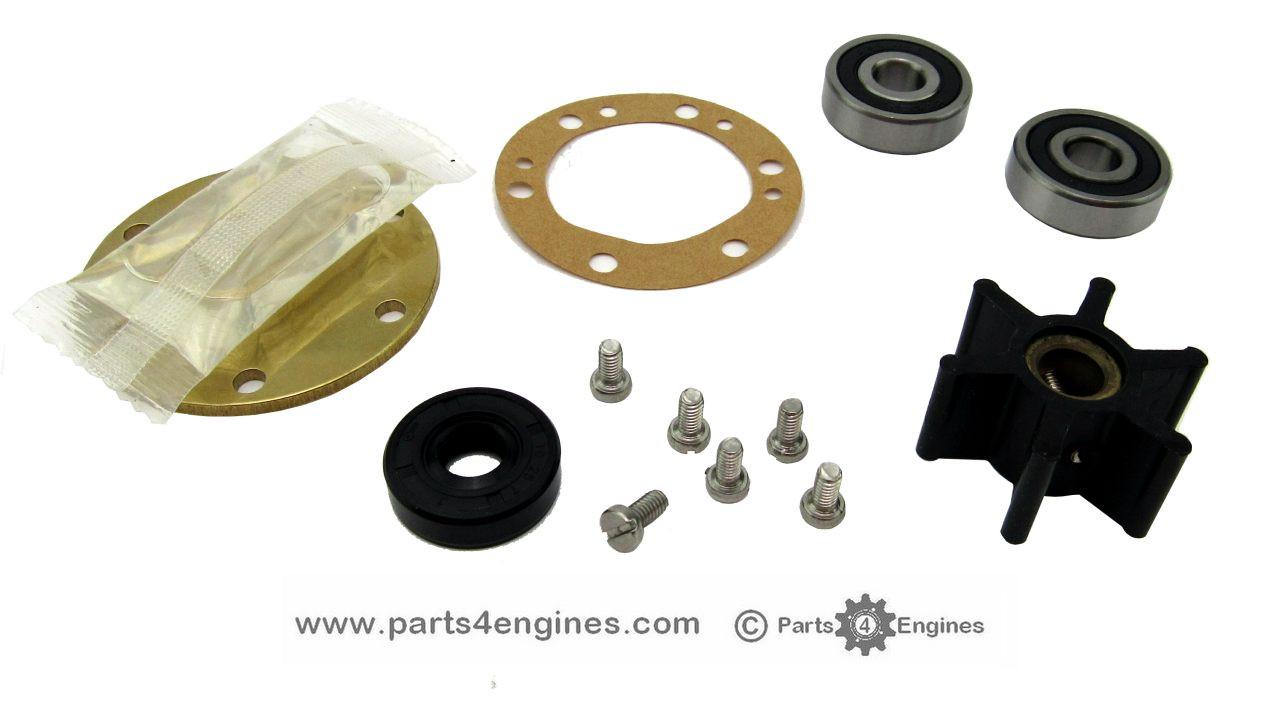 Yanmar 2GM Raw water pump rebuild kit - parts4engines.com