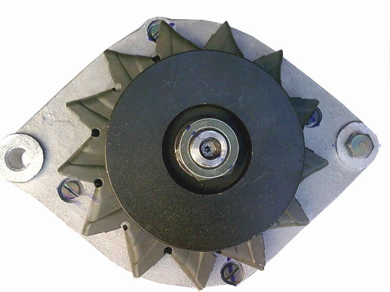 Perkins 4.236 'lowline' alternator (front view)