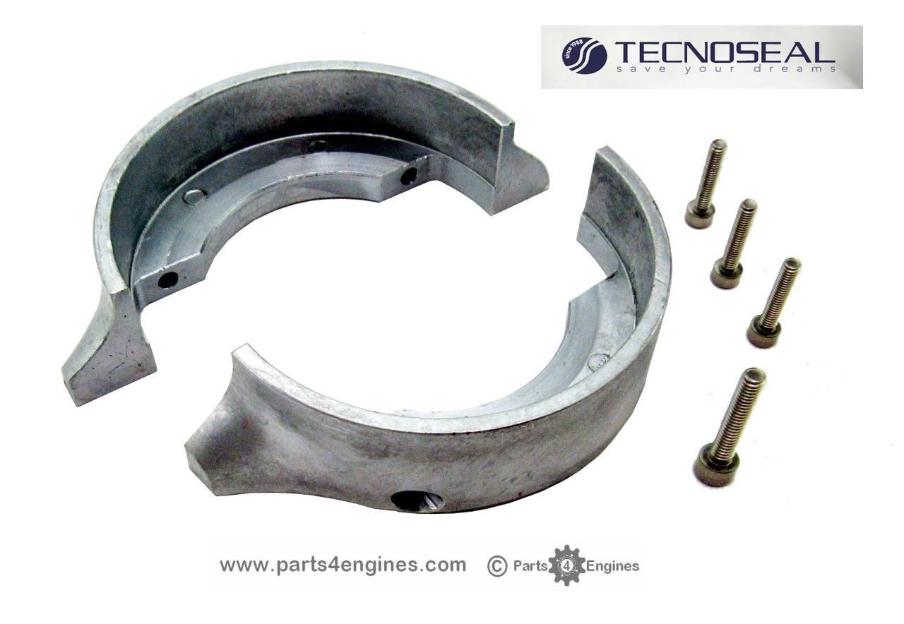 Volvo Penta 120 Saildrive split ring zinc anode, from parts4engines.com