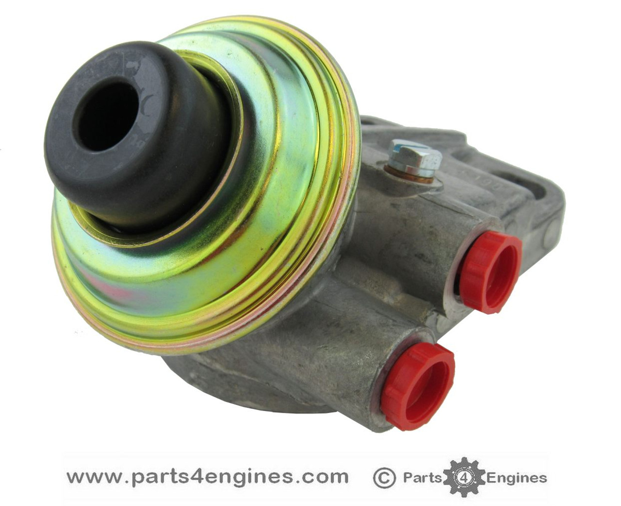 Volvo Penta D2-60F Fuel filter head, from parts4engines.com