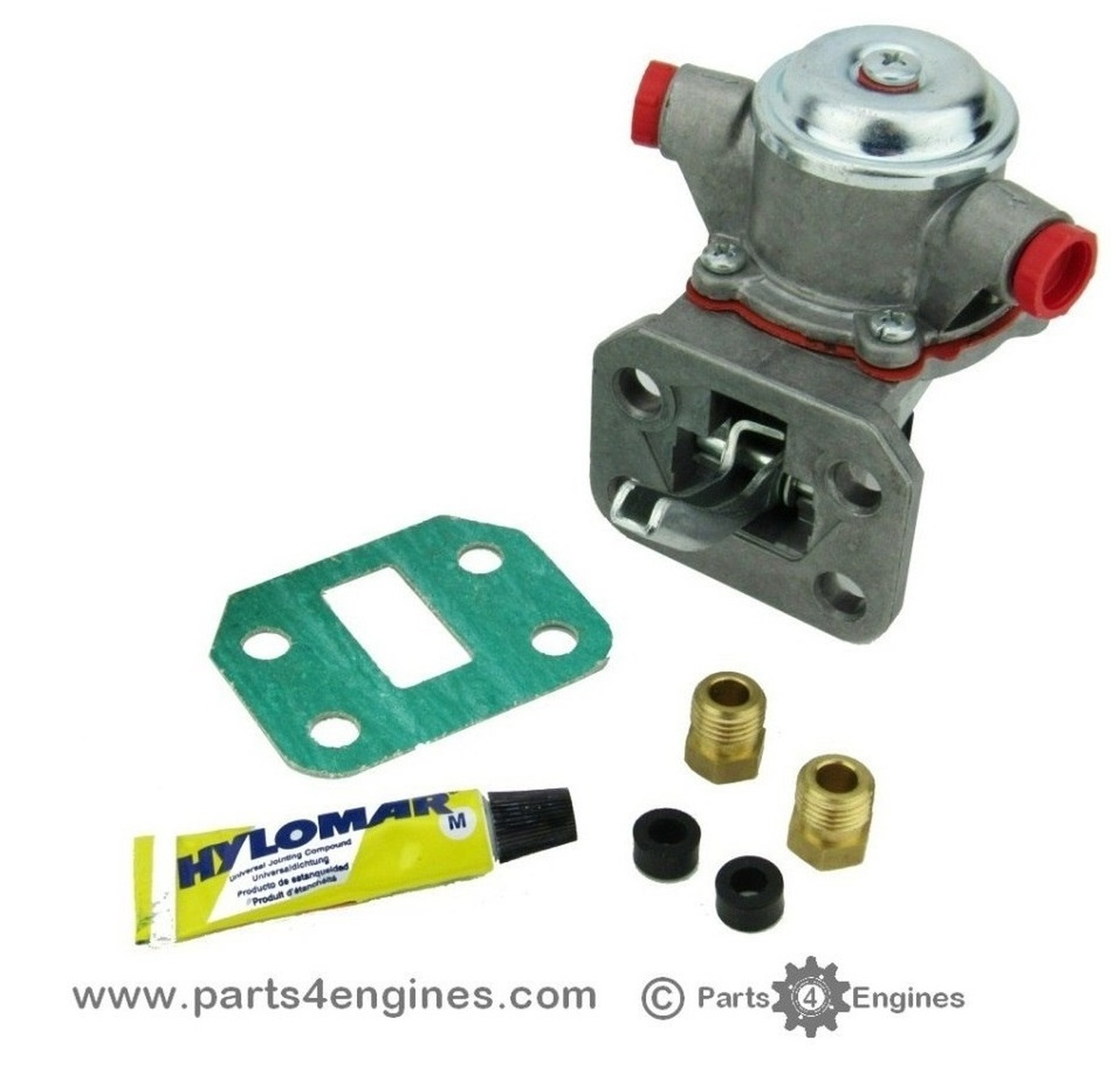 Perkins Phaser 1004 Fuel Lift Pump for engine codes AA, AB, AG, AH - parts4engines.com