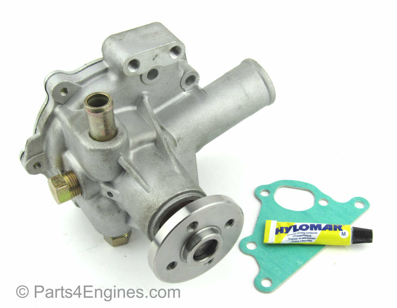 Perkins 400 Series water pump to fit HL, HM, HP & HR engine codes - parts4engines.com
