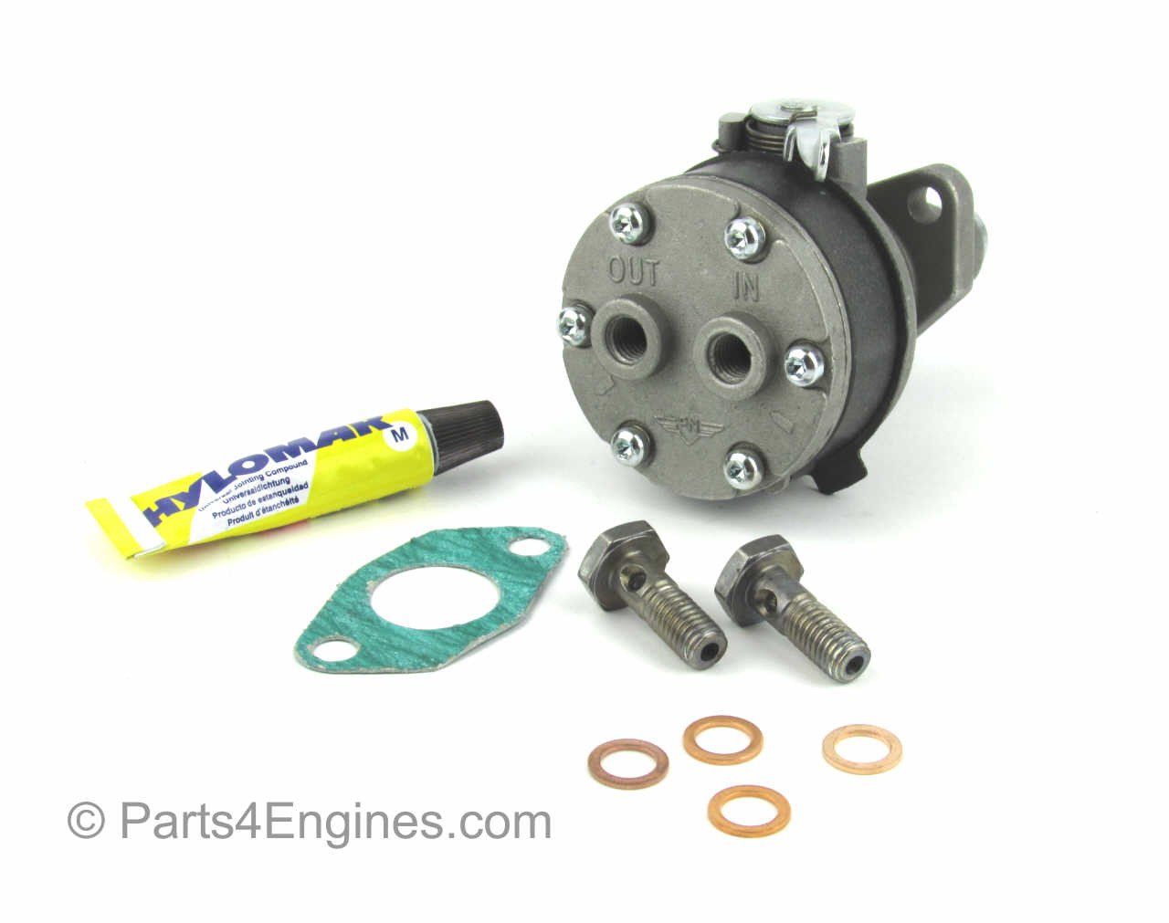 Type A - Perkins 400 series Fuel lift pump kit from parts4engines.com