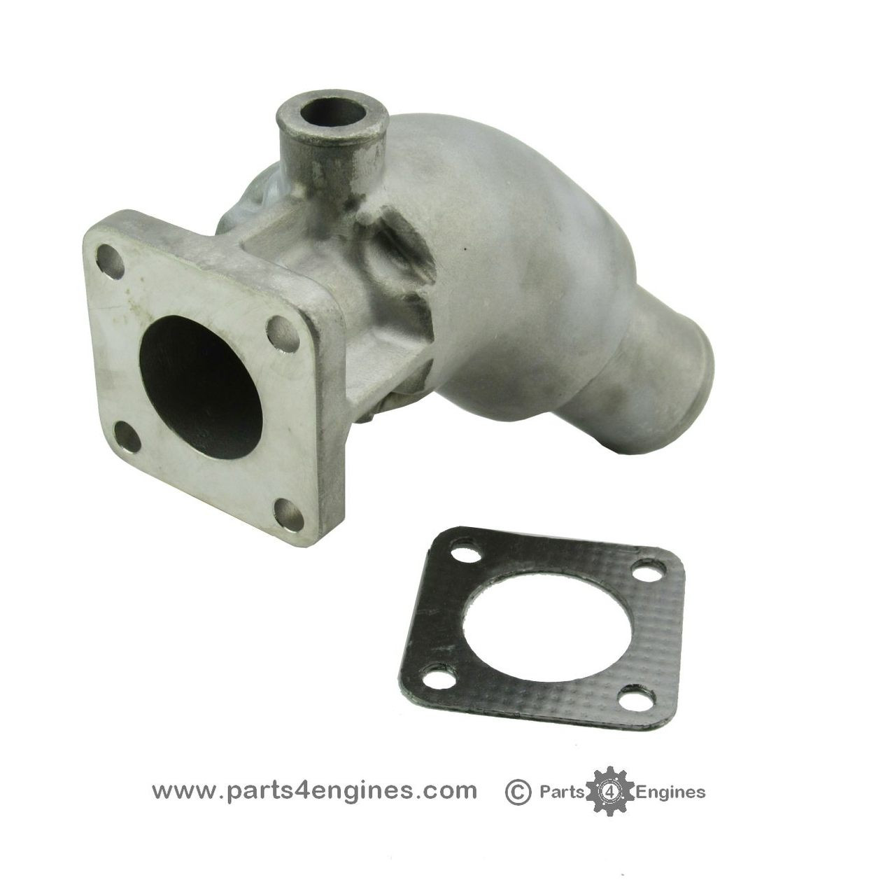 volvo penta md2040 exhaust outlet