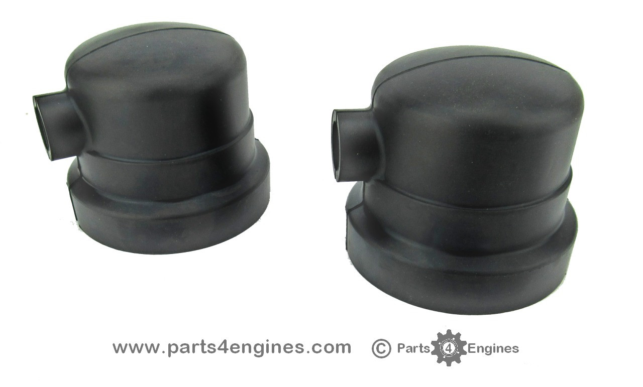 Perkins Perama M35 Heat exchanger end cover caps