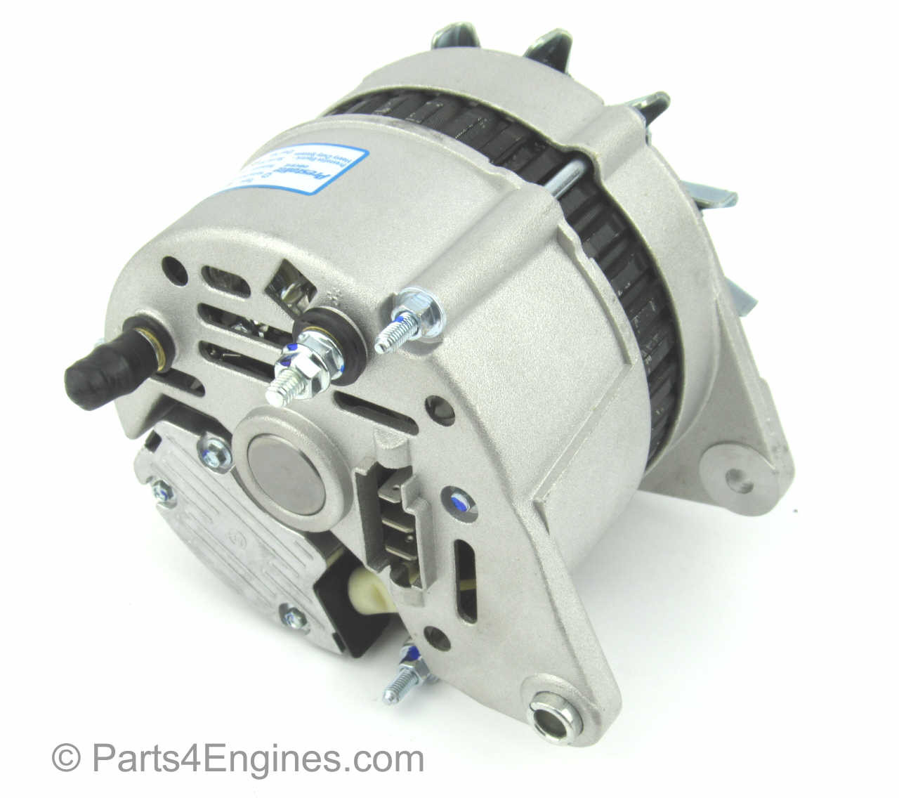 70amp Alternator (rear) - Perkins Prima M50 Alternator from parts4engines.com