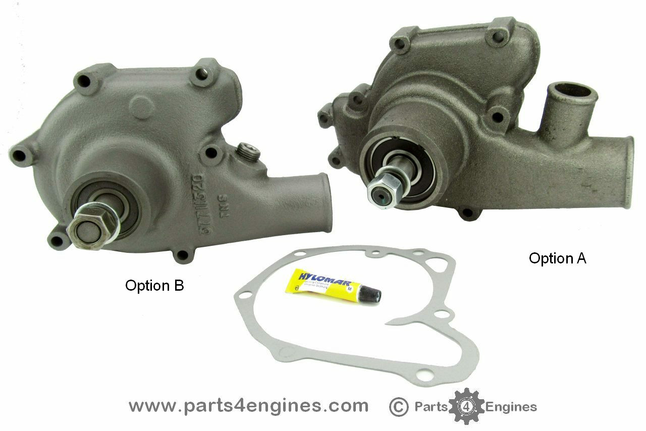 7c8f72b6f46 Perkins 6.354 water pump - parts4engines.com
