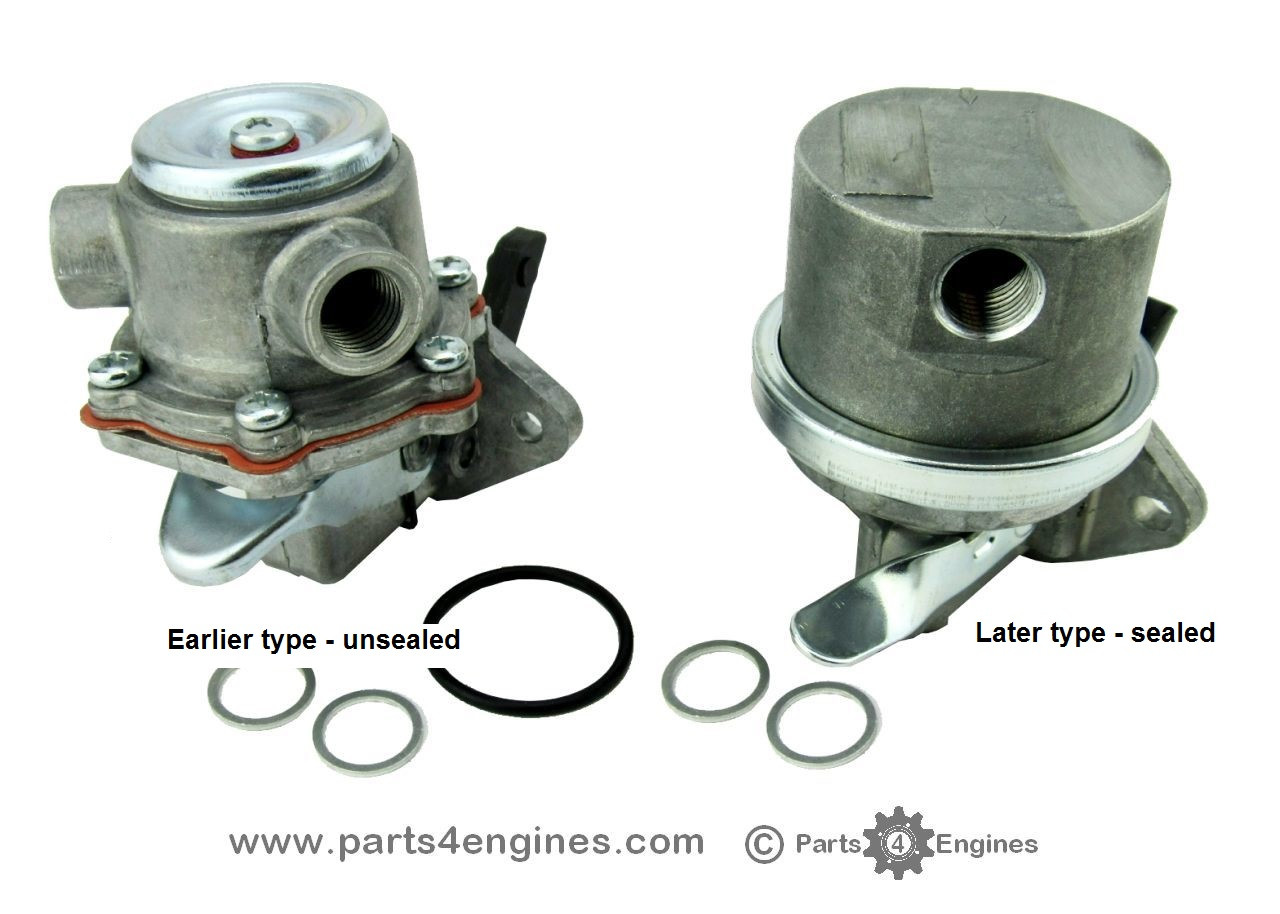 Volvo Penta 2003T fuel lift pump earlier and later type - Parts4engines.com
