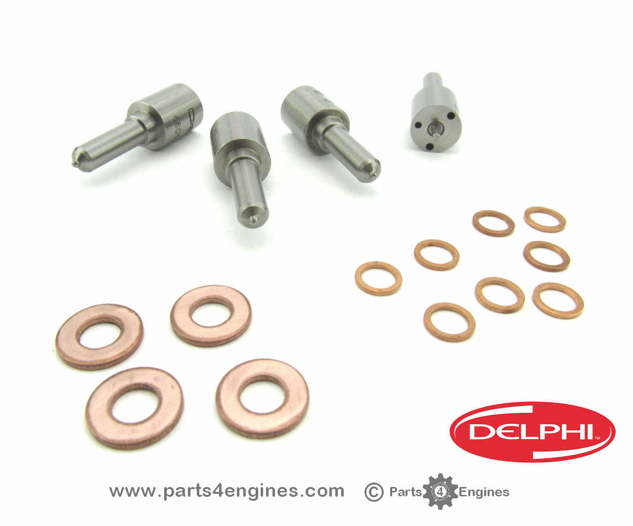 Volvo Penta TAMD22 injector nozzle set from parts4engines.com